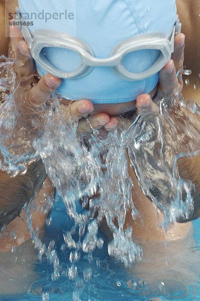 Wasser,planschen,Schwimmer
