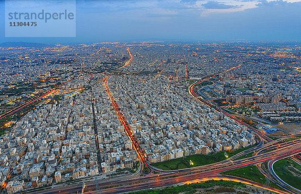 Abend,Asien,bunt,Farbe,Iran,Landschaft