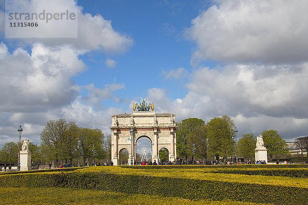 Arc de Carrousel,Bauwerk,Denkmal,Europa,Frankreich,Freizeit