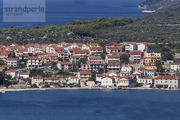Adria Balkan,Balkan,Bauwerk,bergig,Binnenmeer,Blick