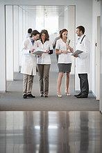 Vier Ärzte diskutieren