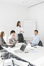 Führungskräfte in einem Vorstandszimmer
